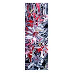 Kozyuk Gallery - Flowers Reflection III, Painting - Title: Flowers Reflection III, 2014