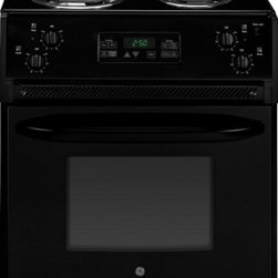 """GE - JM250DFBB 27"""" 3.0 cu. ft. Capacity Drop-In Electric Range With Self-Clean Oven - The JM250DF comes with a total of 30 cu ft capacity in the oven The oven comes with a 4 Pass Bake Element and a 4 Pass broil element ensuring the oven has everything you need for every meal"""
