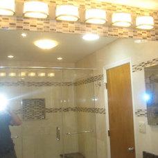 Contemporary Bathroom by StoneMar Natural Stone Company LLC