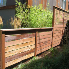 Contemporary Home Fencing And Gates by Cascade Fence and Deck
