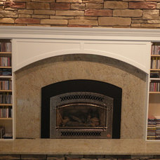 Indoor Fireplaces by Architectural Justice
