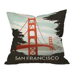 Anderson Design Group San Francisco Throw Pillow, 20x20x6