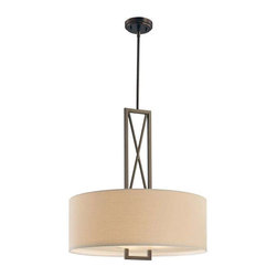 Minka Lavery - Minka Lavery 4362-281 Harvard Court Pendant Light In Harvard Court Bronze (Plate - Manufacturer: Minka Lavery