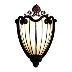 Kichler - Kichler Clarice Wall Sconce in Gold - Shown in picture: Wall Sconce 1Lt in Tannery Bronze w/ Gold Accent