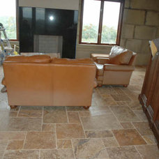 Modern Family Room by Travertine Warehouse