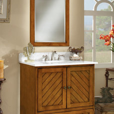 Eclectic Bathroom Vanities And Sink Consoles by Sunny Wood Products