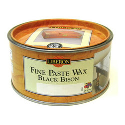 Liberon Fine Paste Wax Black Bison 500ml - Stripped Pine - Liberon Black Bison Fine Paste Wax is ideal for nourishing and protecting all types of wood, including lacquers and French polishes. Black Bison is well known for its quality and distinctive, pleasant smell. It is traditionally used on antiques but is also suitable for use on modern furniture and will enhance the natural beauty of wood whilst protecting it against dryness.  EN71 Part 3 Approved. Safe for toys  Endorsed by the Guild of Master Craftsmen  Silicone Free  Usage : Interior  Dries in 20 minutes Lids have a tiny hole to allow ventilation  Warning: This product contains chemicals known to the state of California to cause cancer.  Available Colors: Antique Pine, Clear, Dark Oak, Georgian Mahogany, Medium Oak, Neutral, Victorian Mahogany. Preparation Remove old waxes and dirt with Liberon Wax and Polish Remover if necessary.   Application  Apply Black Bison Fine Paste Wax sparingly with a cloth on a delicate / French polished surface or with ultra fine steel wool (Liberon grade 0000) when a deeper penetration is required. Allow to dry for 20 minutes, or until touch dry, and then buff with a clean cotton cloth or furniture brush. Repeat the operation on new or very dry wood as it may require two or more coats. For a better finish buff with a Liberon Furniture Brush once the last coat has dried.