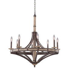 Rustic Chandeliers by Valley Light Gallery