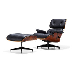 Herman Miller - Herman Miller Eames Lounge Chair and Ottoman - Luxury, sophistication, comfort. When the Eames lounge chair and ottoman was introduced in 1956, there was nothing else like it. There still isn't. The set continues to be among the most coveted and beloved Eames pieces.