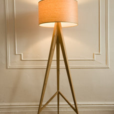 Modern Floor Lamps ALS Designs Bamboo Floor Lamp