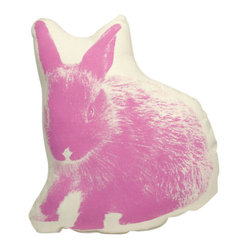 Bunny - Pink On Natural
