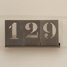 Modern House Numbers by Pottery Barn