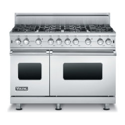 """Viking 48"""" Pro-style Gas Range, Stainless Steel Natural Gas 