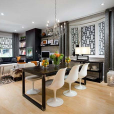 Contemporary Living Room by Delia Shades