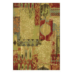 """Dynamic Rugs - Dynamic Rugs Heritage 89359-2272 (Multi) 3'6"""" x 5'6"""" Rug - This Machine Made rug would make a great addition to any room in the house. The plush feel and durability of this rug will make it a must for your home. Free Shipping - Quick Delivery - Satisfaction Guaranteed"""