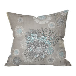 Iveta Abolina French Blue Throw Pillow, 26x26x7
