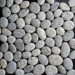 Pebble Mosaic PR02G - ROUND PEBBLE MOSAIC PR02G