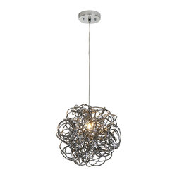 Trend Lighting - Trend Lighting TP6835 Mingle 1 Light Pendants in Faceted Obsidian - This 1 light Pendant from the Mingle collection by Trend Lighting will enhance your home with a perfect mix of form and function. The features include a Faceted Obsidian finish applied by experts. This item qualifies for free shipping!