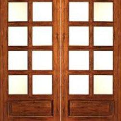"""Rustic-8-lite-P/B Interior Solid 1 Panel IG Glass Double Door - SKU#Rustic-8-lite-P/B-2BrandAAWDoor TypeInteriorManufacturer CollectionInterior French DoorsDoor ModelDoor MaterialWoodWoodgrainTropical HardwoodVeneerPrice700Door Size Options2(14"""") x 80"""" (2'-4"""" x 6'-8"""")  $02(18"""") x 80"""" (3'-0"""" x 6'-8"""")  $02(24"""") x 80"""" (4'-0"""" x 6'-8"""")  +$2602(30"""") x 80"""" (5'-0"""" x 6'-8"""")  +$2802(32"""") x 80"""" (5'-4"""" x 6'-8"""")  +$2802(36"""") x 80"""" (6'-0"""" x 6'-8"""")  +$280Core TypeSolidDoor StyleDoor Lite Style3/4 Lite , 8 LiteDoor Panel Style1 Panel , Chamfer StickingHome Style MatchingMediterranean , LogDoor ConstructionEngineered Stiles and RailsPrehanging OptionsPrehung , SlabPrehung ConfigurationDouble DoorDoor Thickness (Inches)1.75Glass Thickness (Inches)1/2Glass TypeDouble GlazedGlass CamingGlass FeaturesInsulated , Tempered , low-E , Beveled , DualGlass StyleClear , White LaminatedGlass TextureClear , White LaminatedGlass ObscurityNo Obscurity , High ObscurityDoor FeaturesDoor ApprovalsFSCDoor FinishesDoor AccessoriesWeight (lbs)680Crating Size25"""" (w)x 108"""" (l)x 52"""" (h)Lead TimeSlab Doors: 7 daysPrehung:14 daysPrefinished, PreHung:21 daysWarranty1 Year Limited Manufacturer WarrantyHere you can download warranty PDF document."""