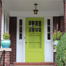 Traditional Front Doors by Sara Bates