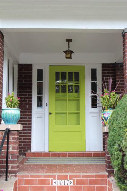 Traditional Front Doors by Sara Bates