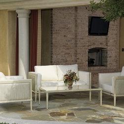Residence - Powder Coated Aluminum Frame, Sunbrella Fabric