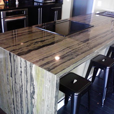 Modern Kitchen Countertops by Affordable Custom Granite countertops