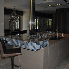 Modern  by Eurostar Marble and Granite Inc