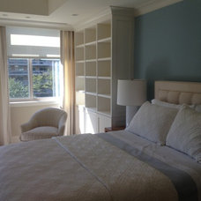 Transitional Bedroom by Palindrome Design, LLC
