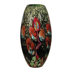 Dale Tiffany - New Dale Tiffany Vase Glass Hand-Blown - Product Details