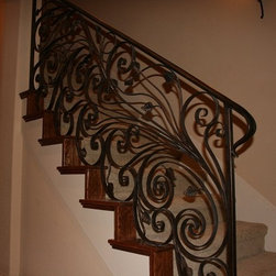 Ultimate Iron Works - Entry Doors and Staircases , Wine Cellar Doors