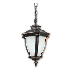 SP0702 Outdoor Metal and Depolished Glass Pendant Lighting -