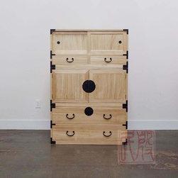 reproductions of Japanese kiri wood tansu. -