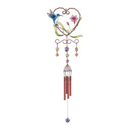 GSC - Wind Chime Copper & Gem Hummingbird Garden Decoration Hanging Decor - This gorgeous Wind Chime Copper & Gem Hummingbird Garden Decoration Hanging Decor has the finest details and highest quality you will find anywhere! Wind Chime Copper & Gem Hummingbird Garden Decoration Hanging Decor is truly remarkable.