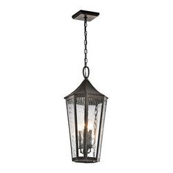 Kichler Lighting - Kichler Lighting 49517OZ Rochdale 4 Light Outdoor Pendants/Chandeliers - Outdoor Pendant 4Lt