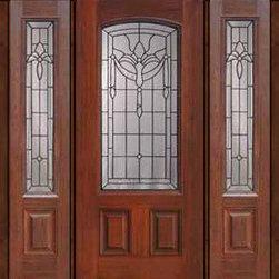 """Prehung Side lights Door 80 Fiberglass Palacio Arch Lite Glass - SKU#MCT06195_DFAP1-2BrandGlassCraftDoor TypeExteriorManufacturer CollectionArch Lite Entry DoorsDoor ModelPalacioDoor MaterialFiberglassWoodgrainVeneerPrice4360Door Size Options32"""" + 2( 14"""")[5'-0""""]  $032"""" + 2( 12"""")[4'-8""""]  $036"""" + 2( 14"""")[5'-4""""]  $036"""" + 2( 12"""")[5'-0""""]  $0Core TypeDoor StyleDoor Lite StyleArch LiteDoor Panel Style2 PanelHome Style MatchingDoor ConstructionPrehanging OptionsPrehungPrehung ConfigurationDoor with Two SidelitesDoor Thickness (Inches)1.75Glass Thickness (Inches)Glass TypeDouble GlazedGlass CamingBlackGlass FeaturesTempered glassGlass StyleGlass TextureGlass ObscurityDoor FeaturesDoor ApprovalsEnergy Star , TCEQ , Wind-load Rated , AMD , NFRC-IG , IRC , NFRC-Safety GlassDoor FinishesDoor AccessoriesWeight (lbs)527Crating Size25"""" (w)x 108"""" (l)x 52"""" (h)Lead TimeSlab Doors: 7 Business DaysPrehung:14 Business DaysPrefinished, PreHung:21 Business DaysWarrantyFive (5) years limited warranty for the Fiberglass FinishThree (3) years limited warranty for MasterGrain Door Panel"""
