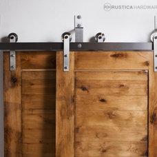 Barn Door Hardware by Rustica Hardware
