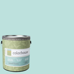Inspired Eggshell Interior Paint, Dream .02, Gallon - Color house paints are zero VOC, low-odor, Green Wise Gold certified and have superior coverage and durability. Our artist-crafted colors are designed to be easy backdrops for living. Color house paints are 100% acrylic with no VOCs (volatile organic compounds), no toxic fumes/HAPs-free, no reproductive toxins, and no chemical solvents.