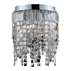 Z-Lite - Z Lite 859Ch Nyssa 5 Light Mini Crystal Chandelier - Crystal Accents, a metal frame and modern lines highlight this five light crystal chandelier from the Nyssa Collection.