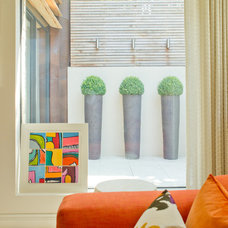 Contemporary Family Room by Harriet Forde Design Ltd