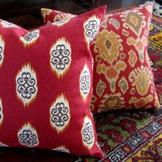 Mediterranean Decorative Pillows by www.pillowsforhope.com