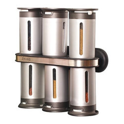 Zevro 8-pc. Magnetic Spice Rack - A clever design to help keep your spices nice and organized.