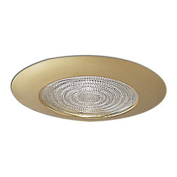 "Nora Lighting - Nora NT-5023 5"" Fresnel Shower Trim, Nt-5023g - 5"" Fresnel Shower Trim"
