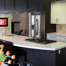 Contemporary Kitchen Countertops by Christine Austin Design