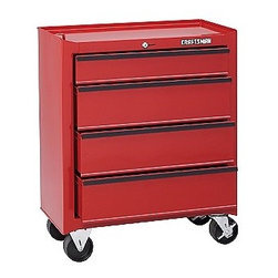 4-Drawer Roll-Away Homeowner Tool Chest - Storage & Garage mobile tool cabinets. With Craftsman, you stay organized and your tools stay safe.