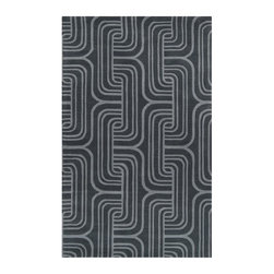 Surya - Surya Oasis Contemporary Hand Tufted Wool Rug X-85-3301SAO - Bold colors and modern design are integrated to create the patterns of our Oasis Collection. Each rug is hand tufted in 100% wool. With unique looks and sleek accent of looped textured and hard carved details, each of these rugs is an original piece that