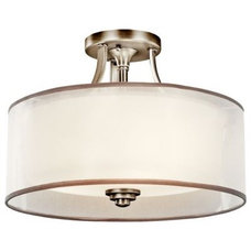 Bathroom Lighting And Vanity Lighting Lacey Semi-Flushmount by Kichler