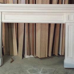 Traditional Fireplace Mantels - Ralph Ferrin