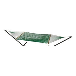Phat Tommy - Handwoven Hammock in Holly - Includes two chains and two tree 0.38 in. steel hooks
