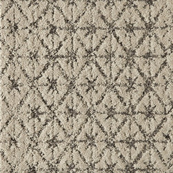 Vintage Vibe Carpet Tile, Cream - Flor tiles have always been a favorite — as Scott and I have four pets! Their new crop of textures and soothing colors could be just the ticket in our living room or bedroom.